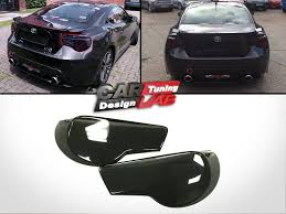 Black Smoke Acrylic Tail Light Cover 2pc For Toyota GT86 Scion FR ...