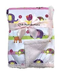 """E&A"" <b>Luxury</b> Soft Fleece Baby Blanket <b>Jungle</b> Design 75 x 100cm ..."