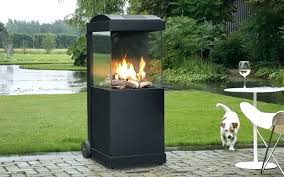 portable outdoor fireplace fireplaces wood burning bur