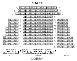 Narroway Productions Seating Chart Box Office Department Of Theatre And Dance Wake Forest