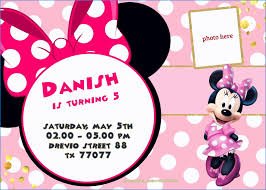 free minnie mouse invitation template best of free minnie mouse invitations personalized sarokapro