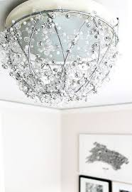 view in gallery plant basket chandelier