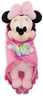 Disney Babies Minnie Mouse Plush Doll & Blanket 10 ... - Amazon.com