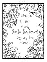 amazon psalms in color an coloring book with inspirational psalms religious themes and relaxing fl designs