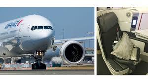 Flight Review Air France B777 300 Business Class Mumbai