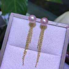 2019 <b>Shilovem 18k Yellow Gold</b> Natural Freshwater Pearls Drop ...
