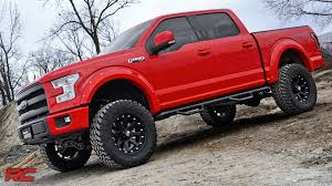 ford trucks 2014 lifted. Wonderful 2014 20152018 Ford F150 6inch Suspension Lift Kit By Rough Country  YouTube And Trucks 2014 Lifted