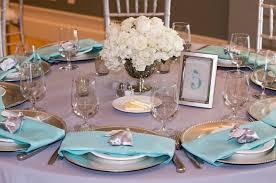 beach wedding table decorations set