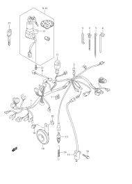 2008 suzuki gs500f wiring harness gs500f e3 parts best oem gs500 headlight bulb at headl