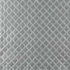 leather fabric by the yard diamond stitch embossed padded car upholstery faux leather fabric