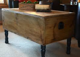 Great Wood Trunk Coffee Table With Coffee Table Wooden Trunks throughout  Large Trunk Coffee Tables (