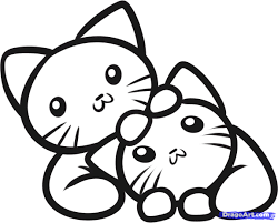 cute kittens coloring pages. Simple Coloring Improved Cute Kitten Coloring Pages Timely Puppy And Funycoloring Of Kittens With F