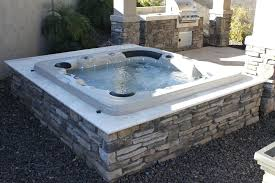 acrylic spas mirage pools in ground spas and hot tubs pertaining to in ground jacuzzi remodel in ground hot tub installation cost