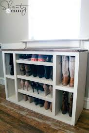 diy shoe rack shoe storage rotating shoe rack diy plans