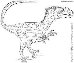 Small Picture Velociraptor coloring pages Coloring pages to download and print
