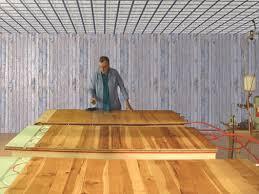 installing engineered hardwood flooring over radiant heat