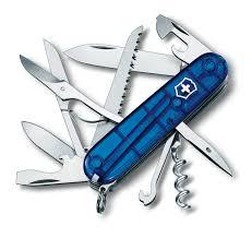 <b>Мультитул Victorinox Huntsman</b> 1.3713.T2 91 мм синий, 15 ...