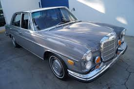 The car is in stunning condition. 1972 Mercedes Benz 280se 4 5 Leather Stock 103 For Sale Near Torrance Ca Ca Mercedes Benz Dealer
