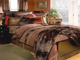rustic bedding sets new bear country bedding sets cabin place