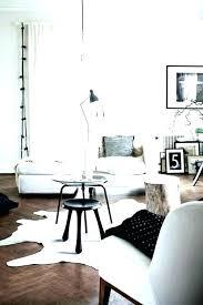 ikea cow rug hide s jute 5x7 furniture