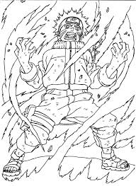 Naruto Coloring Pages Nine Tailed Fox Free Library And Bitsliceme