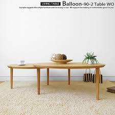 90 cm wide width 147 cm round oak wood natural wood wooden coffee round center