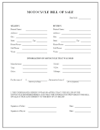 Automobile Bill Of Sale Form Car Bill Sale Printable This Home Print Of For Easy Receipt