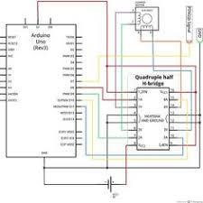 stepper motor wiring diagram tech search color diy 360 degree sodar device