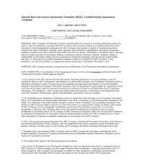 Mutual Confidentiality Agreement 100 Non Disclosure Agreement Templates Samples Forms Template Lab 71