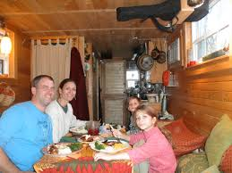 Meet the Tiny House Family Who Built an Amazing Mini Home for Just    Read on to see Hari    s insightful small space living tips and see photos of the Tiny House    s wonderful living spaces  which include a loft sleeping space