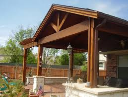 wooden patio covers