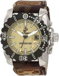 our custom marine corps logo metal watch to view further for usmc wrist armor men s wa123 stainless steel swiss quartz us marine corps watch tritium usmc