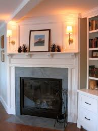 fireplace wall sconces. fireplace mantels soapstone surround with bronze wall sconces traditional boston and r