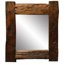 wood mirror frame. Oldbury Naite Aged Wood Small Accent Mirror Frame N