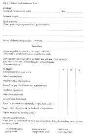 Sample Self Assessment Form – Iinan.co