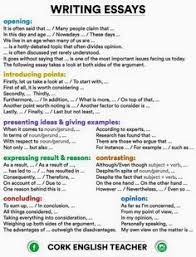 list of attention getters hooks and sentence starters in writing essays connectors and phrases