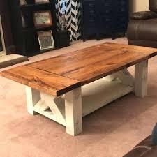 chunky coffee table plan chunky farmhouse coffee credit chunky rustic wood coffee table