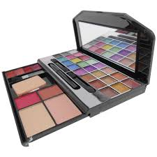 kiss beauty make up collection eye shadow blusher pact powder lip gloss eye pencile make up kits home18