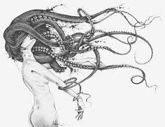 Small Picture Sketch by Lucas Werneck Art Pinterest Mermaid Octopus