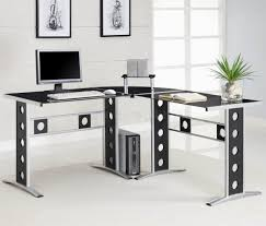home office contemporary glass office. glass home office desks top desk contemporary m