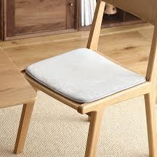 computer chair seat cushion. Lazy Corner Winter Warm Coral Velvet Non-slip Chair Cushion Seat Office Thin Computer Mats 65177 T