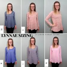 Lularoe Lynnae Size Comparison Chart The Lynnae Has Long