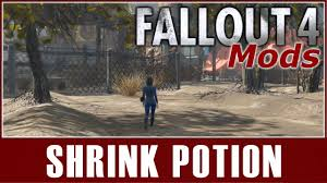 Fallout 4 Mods - Shrink Potion - YouTube