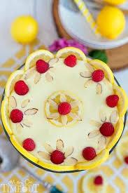 Skinny Lemon Raspberry Cheesecake Trifle Mom On Timeout