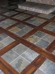 faux slate tile flooring