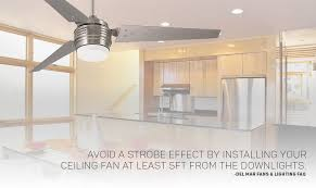 recessed lighting ceiling fan strobe ideas horizontal fans with multiple paddles bring