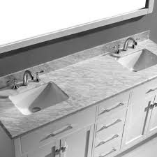 72 inch double sink vanity. virtu usa caroline 72 double bathroom vanity set in white inch sink 2
