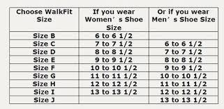 Walk Fit Size Chart Reasonable Walkfit Size Chart Digimon World Next Order