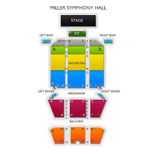 Miller Symphony Hall Seating Chart Allentown Symphony Orchestra Beethovens Pastoral