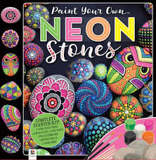 paint your own neon stones kit by hinkler books other format barnes noble